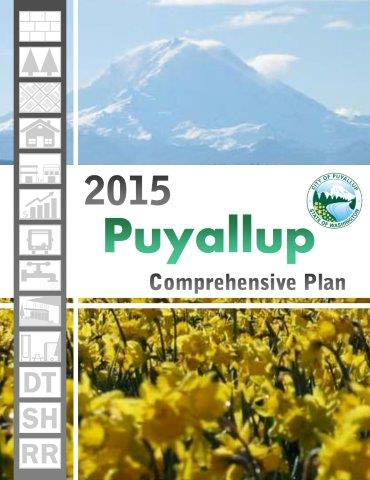 2015 Puyallup Comprehensive Plan Cover