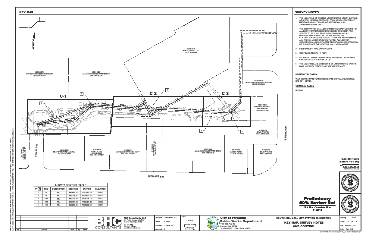 Proposed Gravity Sewer Pipe