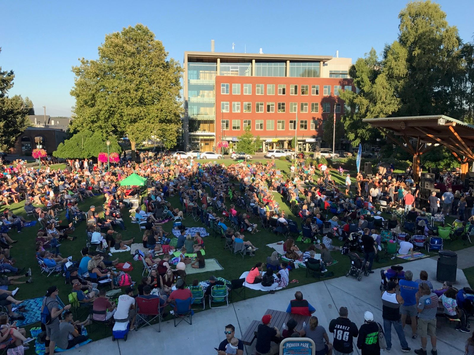 concerts in the park 2017
