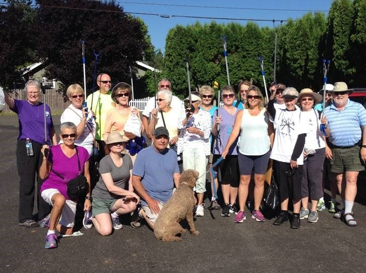 Puyallup Valley Volkssport Riverwalk Trail Clean-up 2017