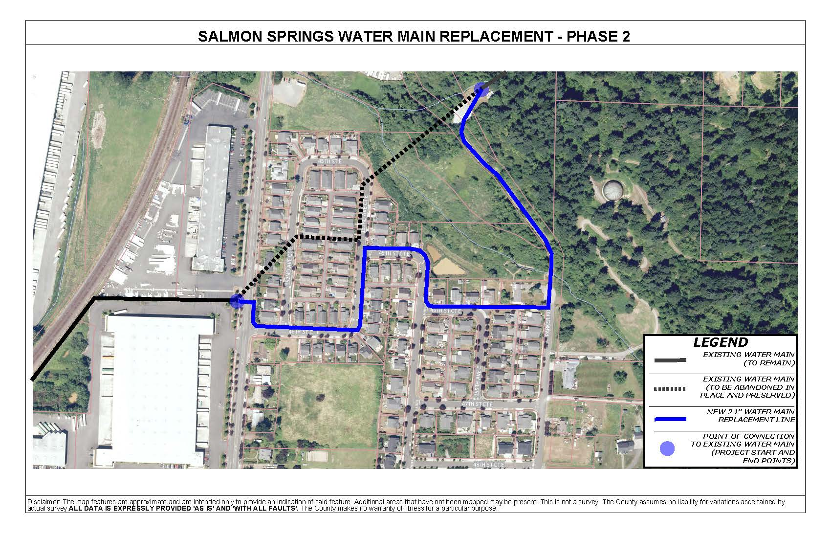 Salmon Springs Phase 2 - Project Vicinity Map