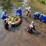 Elodea Hand Pulling Project Volunteers
