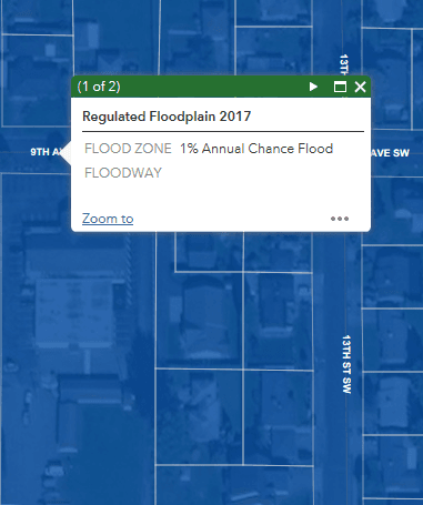 Critical areas cropped