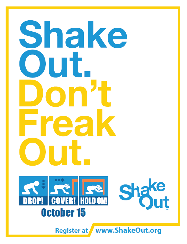 ShakeOut Dont Freak Out