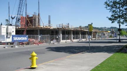 Construction Underway, May 2007