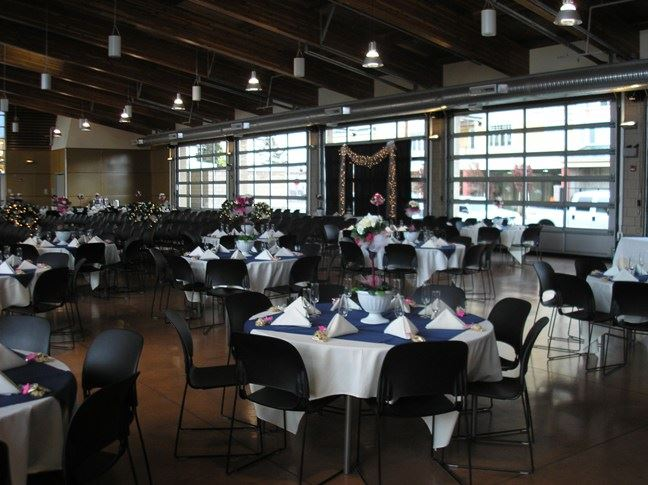 Blue and White Themed Banquet