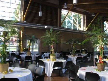 Palm Trees on Banquet Tables