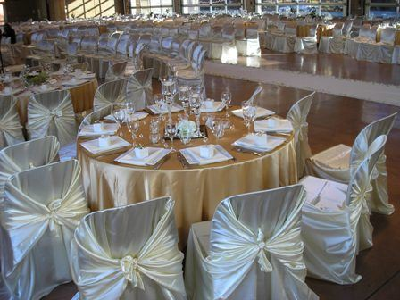 White and Gold Silk Theme